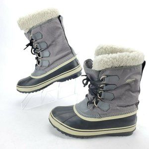 SOREL Winter Carnival Snow Boot Faux Fur Lace Up